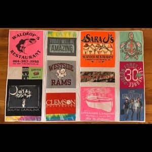 Not selling. Memory and t shirt quilts